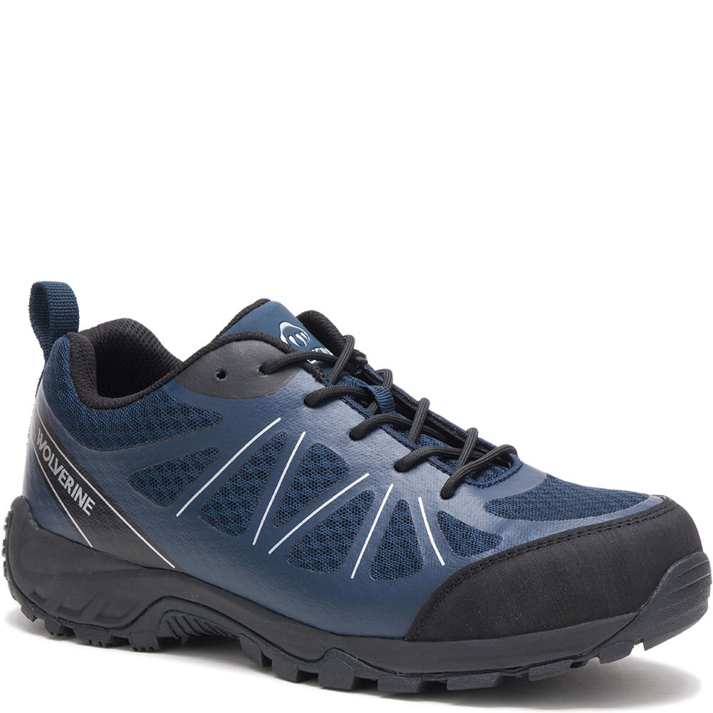 Image for Wolverine Men's Amherst II Safety Shoes - Navy/Black from bootbay