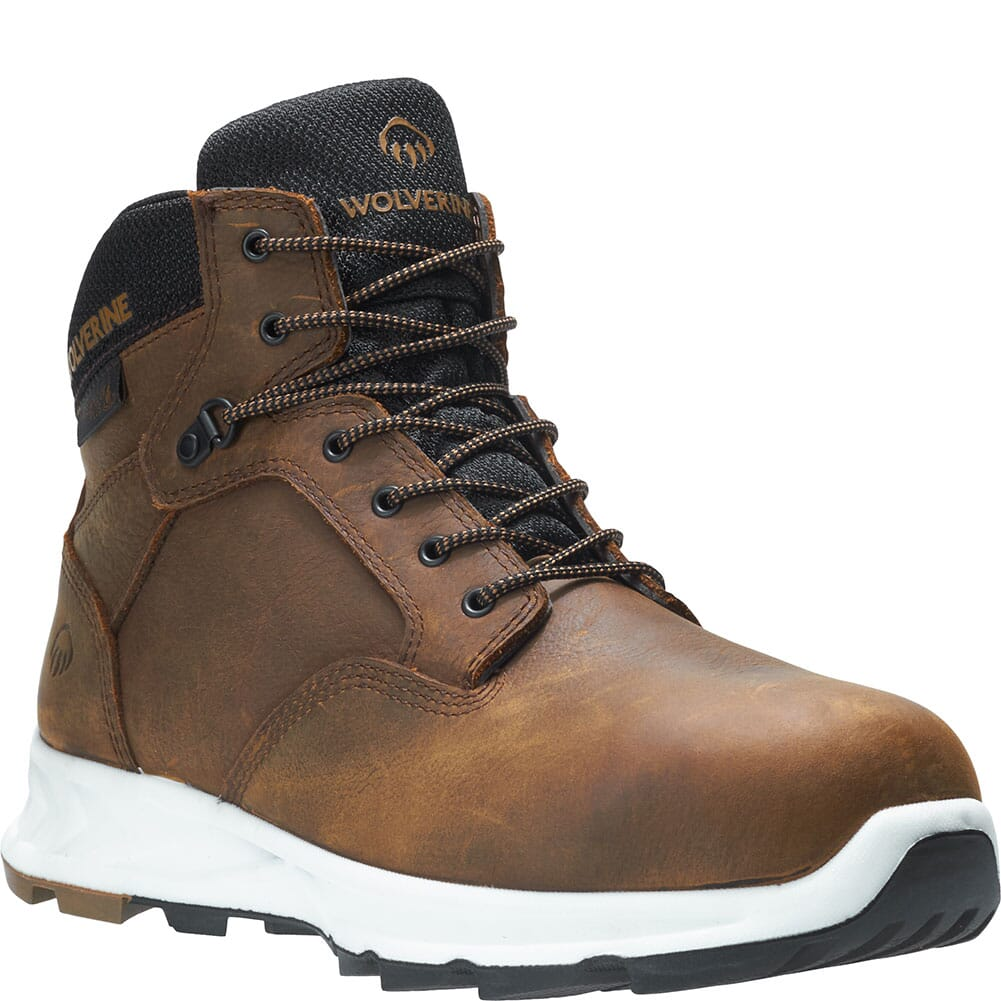 Image for Wolverine Men's Shiftplus Mid LX Safety Boots - Brown from bootbay