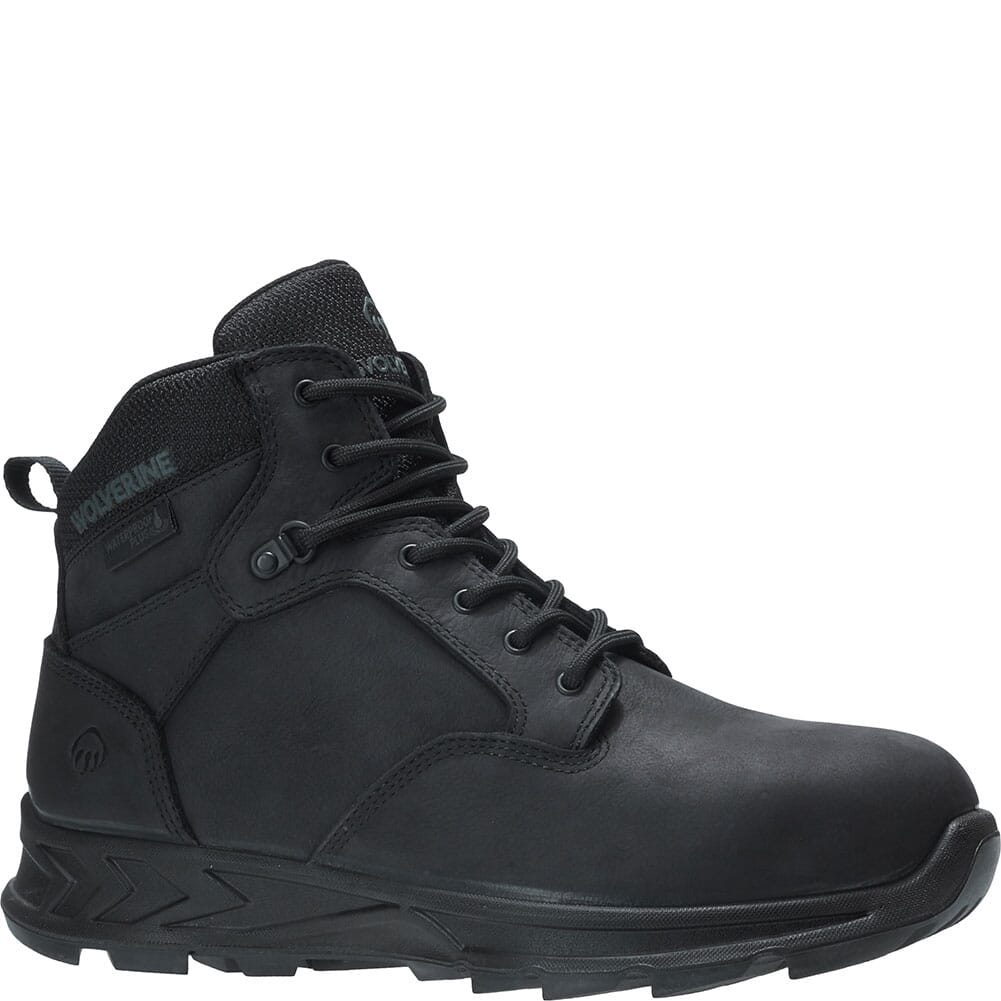 Image for Wolverine Men's Shiftplus Mid LX Safety Boots - Black from bootbay