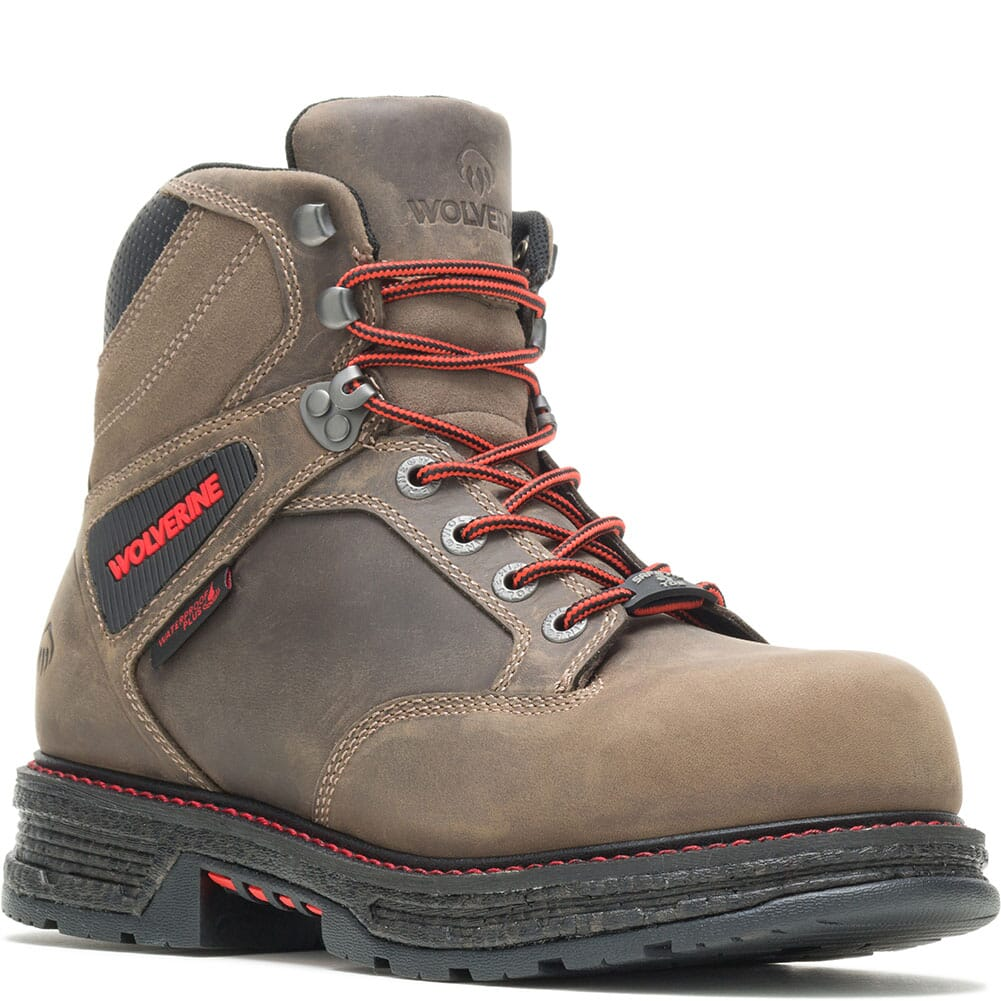Image for Wolverine Men's Hellcat Ultraspring CM Safety Boots - Gravel from bootbay