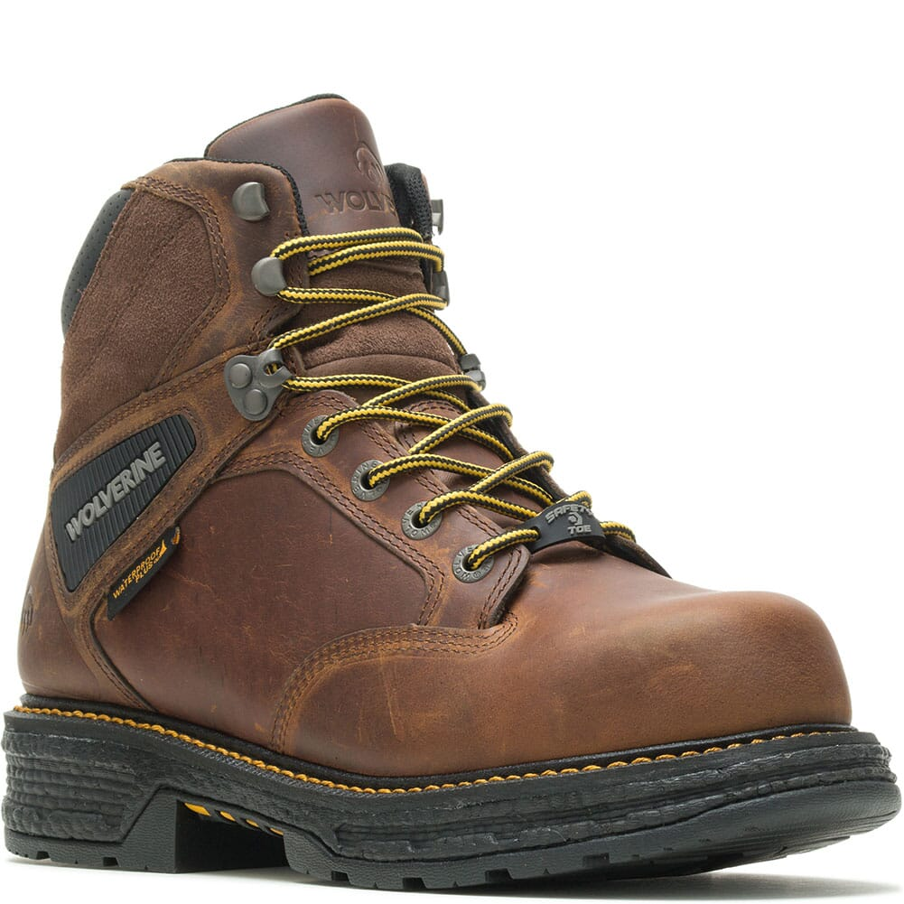 Image for Wolverine Men's Hellcat Ultraspring CM Safety Boots - Tobacco from bootbay
