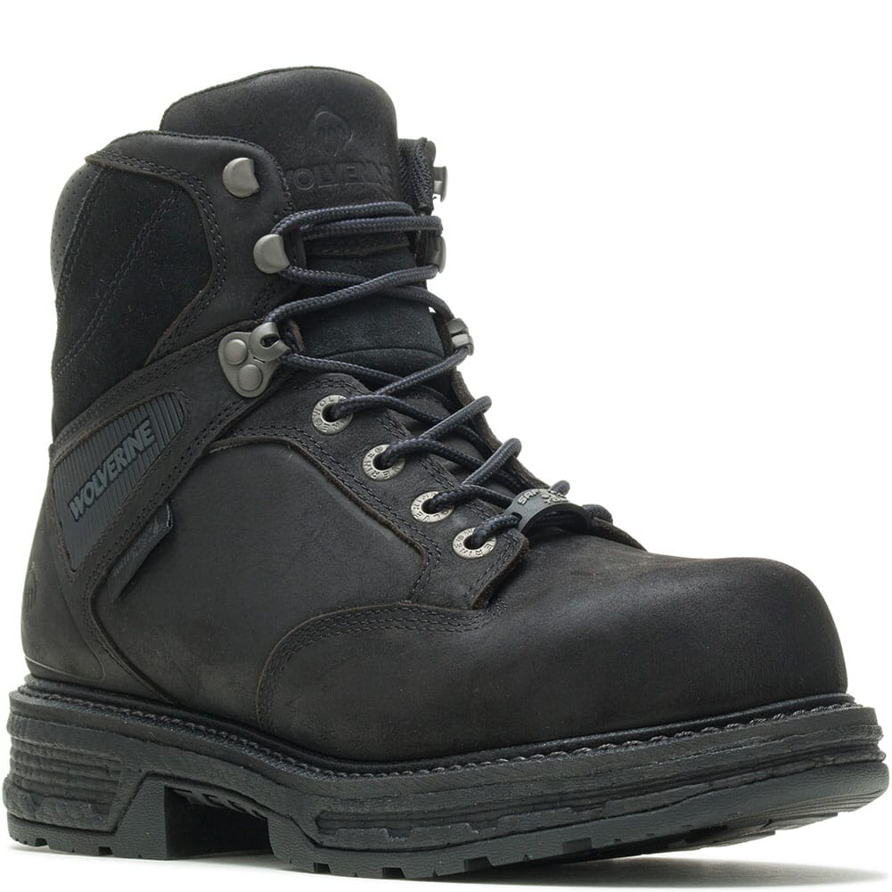Image for Wolverine Men's Hellcat Ultraspring CM Safety Boots - Black from bootbay