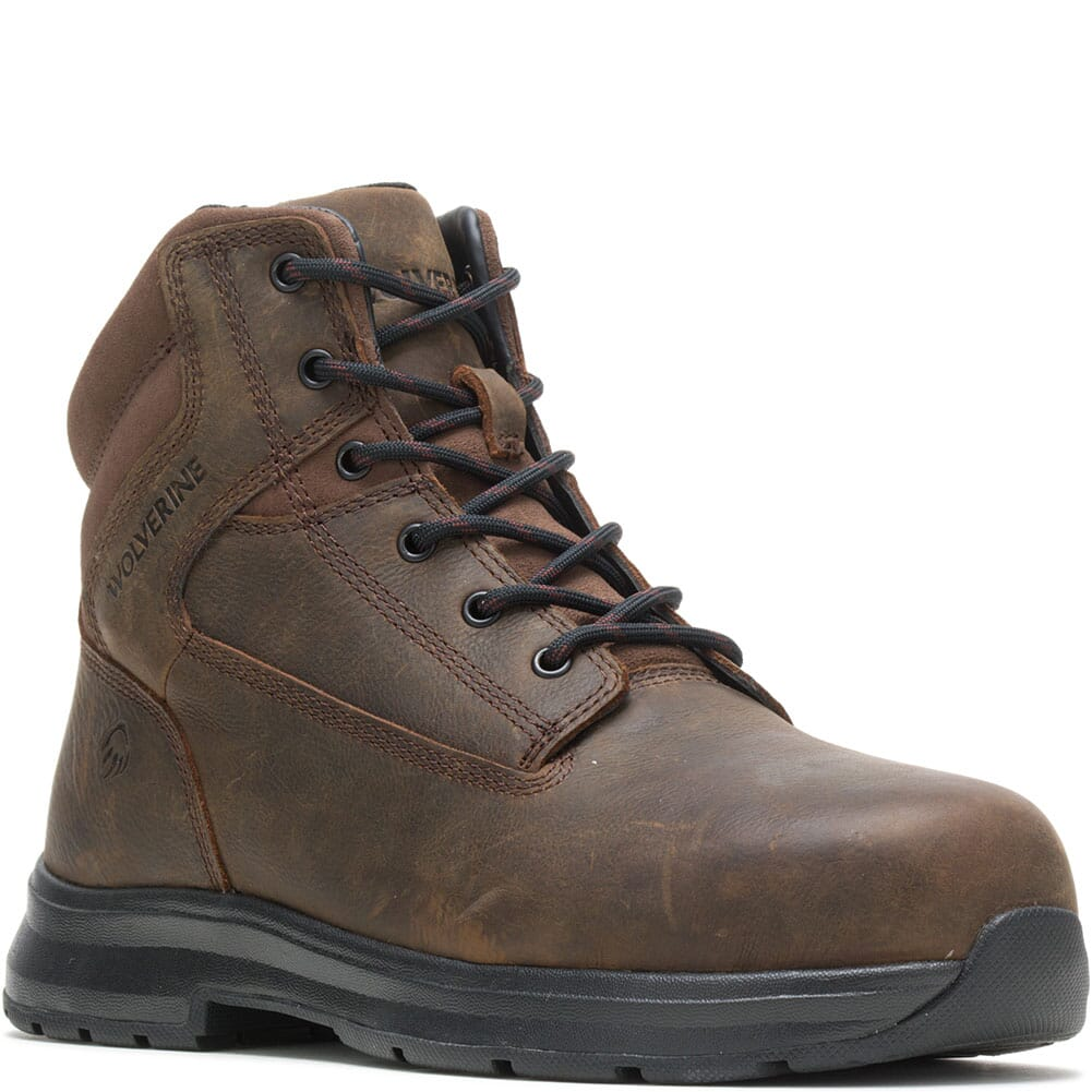 Image for Wolverine Men's Logan ESD Safety Boots - Brown from bootbay