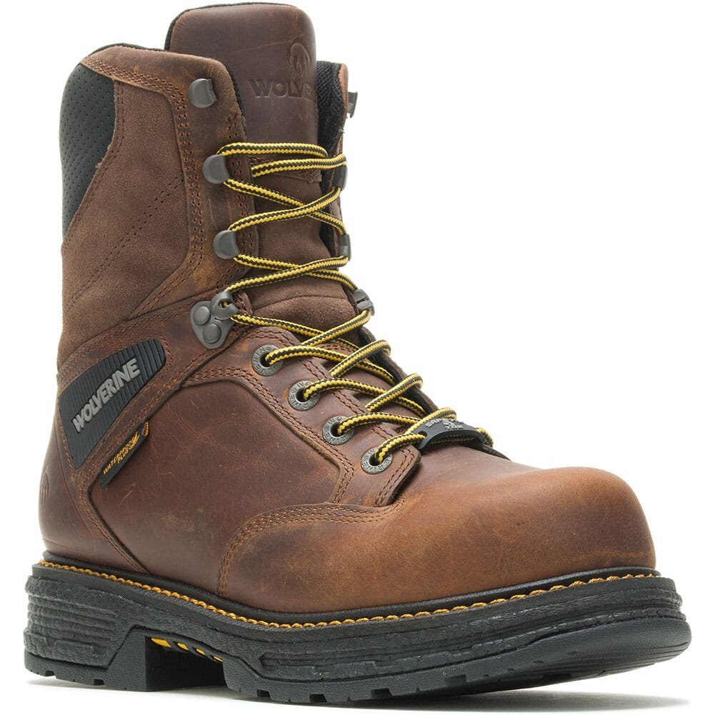 Image for Wolverine Men's Hellcat Ultraspring Insulated Safety Boots - Tobacco from bootbay