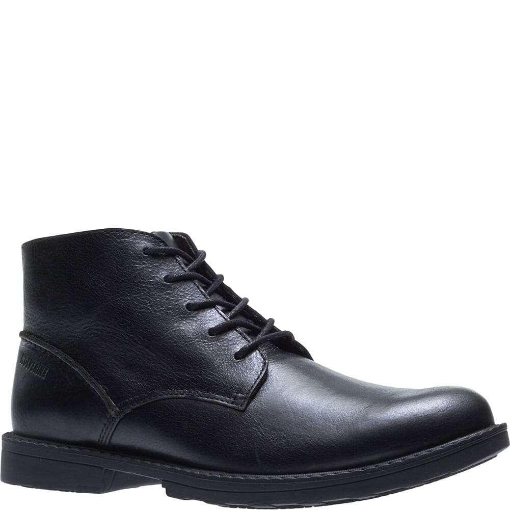 Image for Wolverine Men's Bedford Chukka Work Boots - Black from bootbay