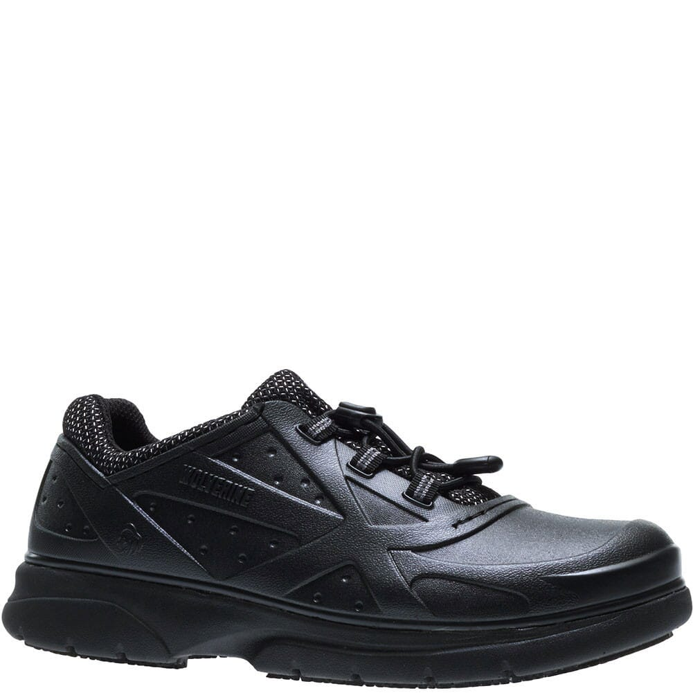 Image for Wolverine Women's Serve SR Work Shoes - Black from bootbay