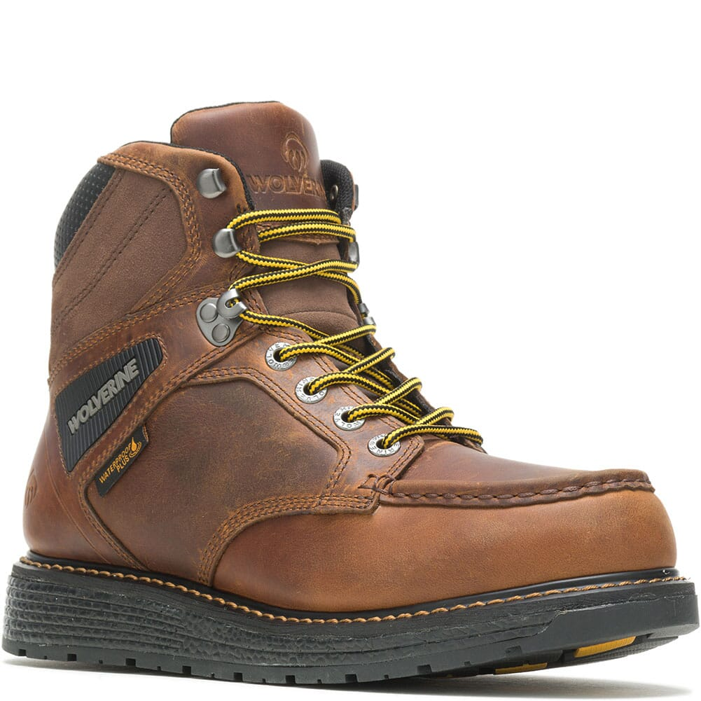 Image for Wolverine Men's Hellcat Wedge Work Boots - Tobacco from bootbay