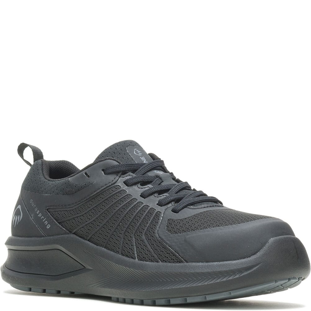 Image for Wolverine Men's Bolt Vent Safety Shoes - Black/Black from bootbay