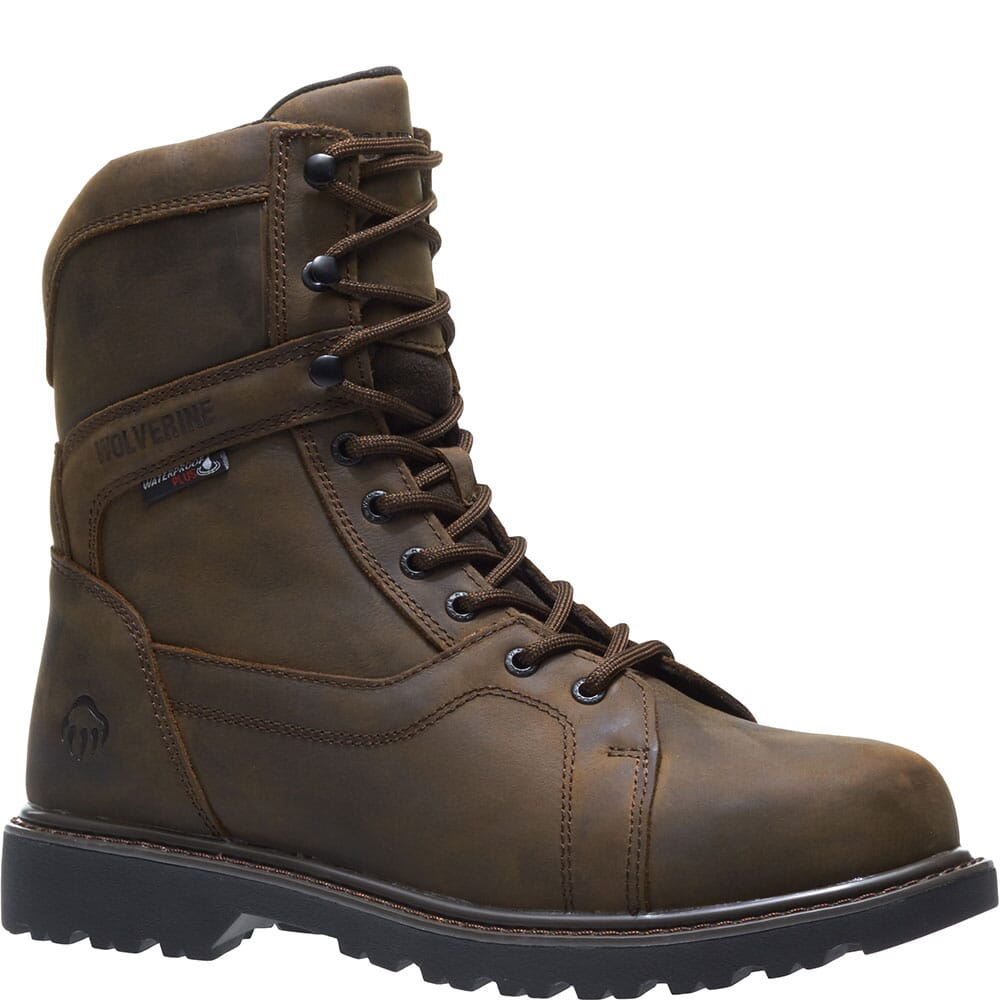 Image for Wolverine Men's Blackhorn WP Safety Boots - Dark Coffee from bootbay