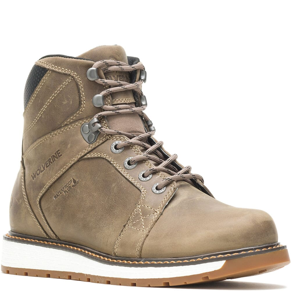 Image for Wolverine Men's Hellcat UltraSpring Wedge Work Boots - Gravel from bootbay