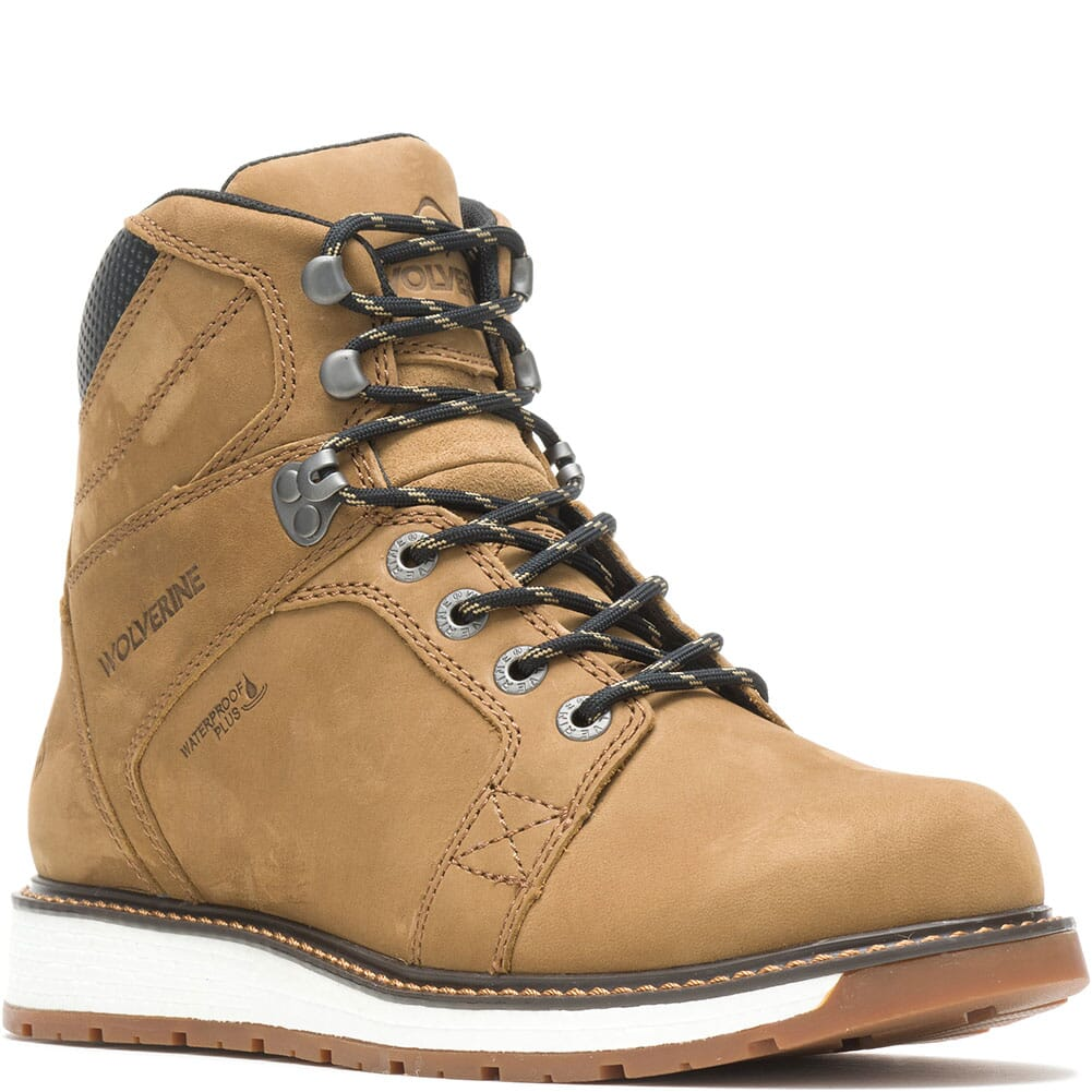 Image for Wolverine Men's Hellcat UltraSpring Wedge Work Boots - Coyote from bootbay